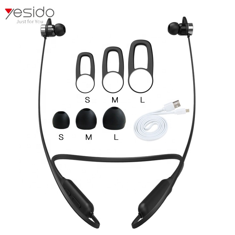 Drop Shopping Neckband Magnet Earbuds HD Earphone Sport Wireless BluetoothS Headphone - idealBuds Earphone | idealBuds.net