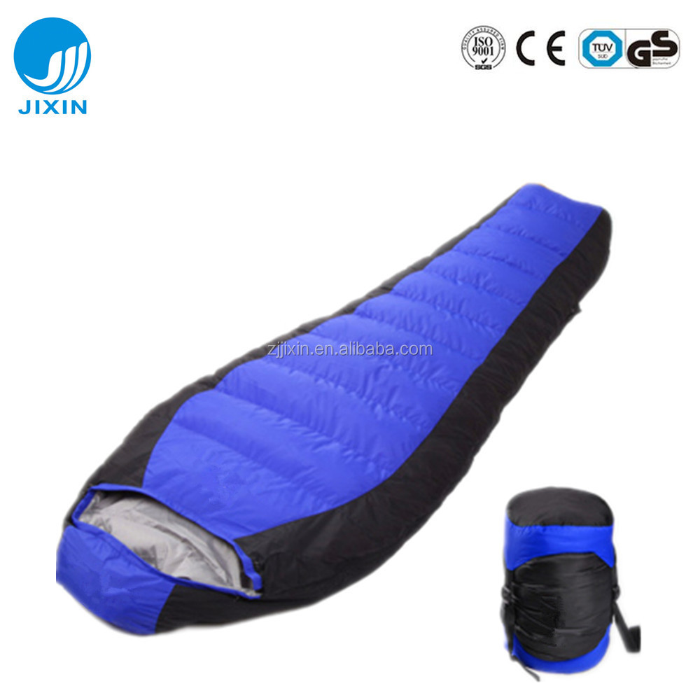Outdoor portable hiking travelling Mummy Sleeping Bag