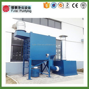 Pulse Removal Dust Collector System For Vacuum Bag Filter