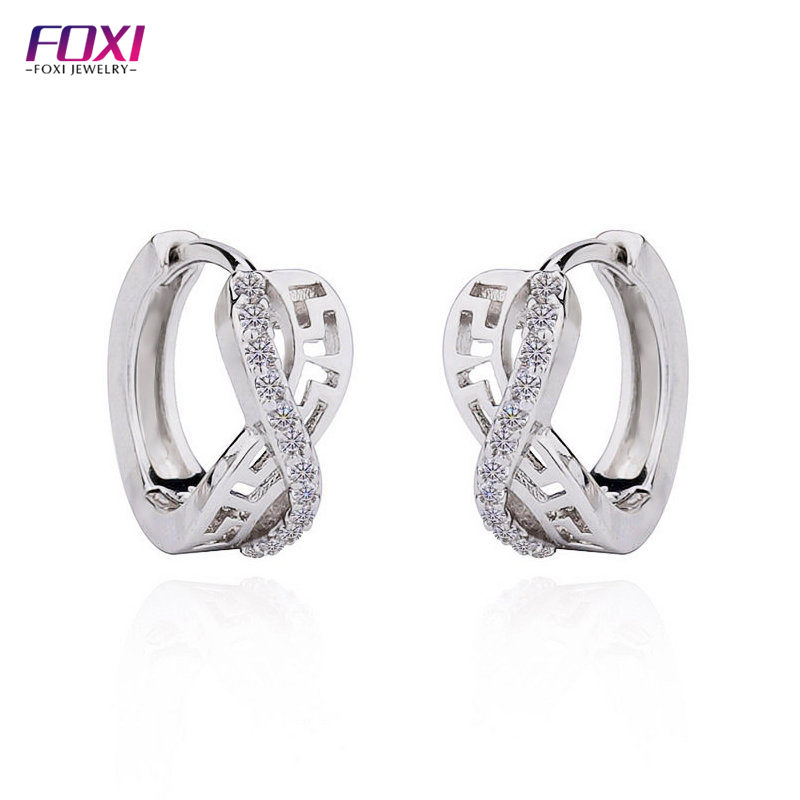 Fashion Earring Designs Cubic Zirconia Earrings Jewel