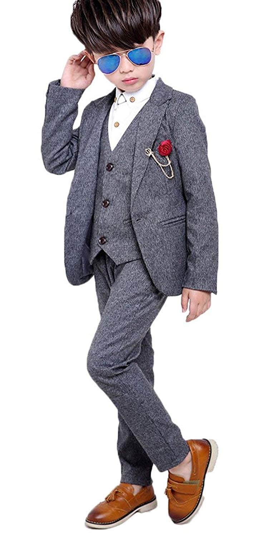 4ba05219bff Get Quotations · TAOJIAN Baby Boys Gentleman Vintage Style and Wedding  Tuxedo Waistcoat