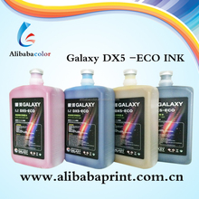 Top quality brand eco solvent Ink Galaxy Dx5-eco