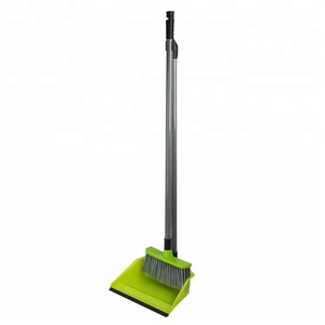 Toprank New Household Cheap Plastic Floor Cleaning Broom PP Dustpan Superior Performance Broom Dust Pan Set
