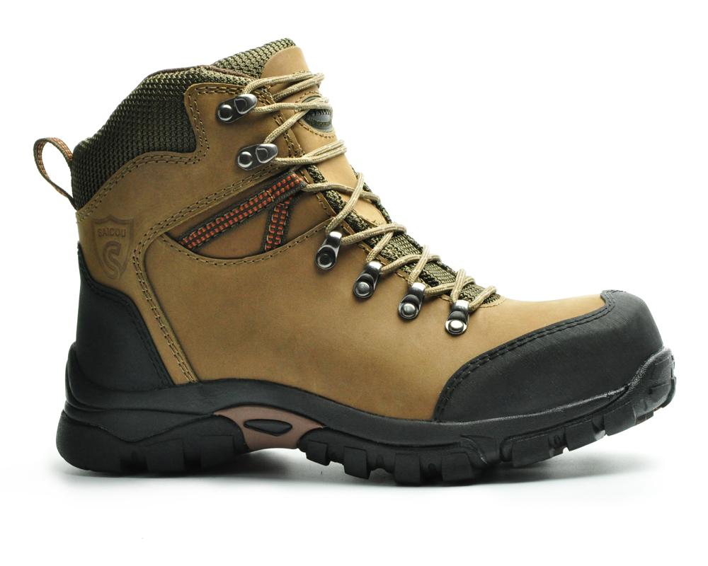 Chaussures de randonnée en acier de haute qualité et de confort en chine, chaussures de travail pour hommes et bottes de sécurité, SC-2218 d'usine