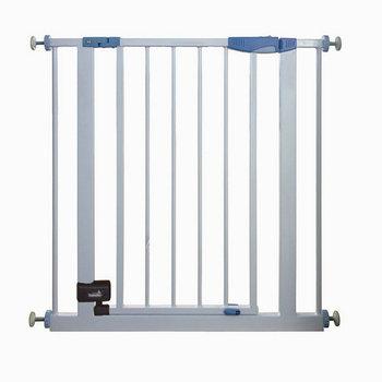 New Model Baby Safety Gate Door Extra Wide Metal Expandable Walk Dog