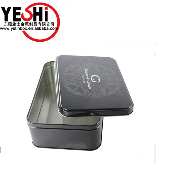Hot sale men cosmetic tins shampoo packaging box for head and heard