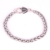 BX700002 Yiwu Huilin Jewelry 6mm Stainless Steel Curb Wheat Link Chain Fashion Bracelet for Unisex Style Jewelry