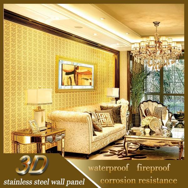 Glinsterende roestvrij staal patroon metalen geperforeerde plaat voor commerci le keuken - Wandbekleding keuken roestvrij staal ...