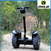 Two wheel brushless motor electric chariot double battery self balancing scooter with APP