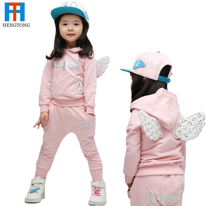 4897d36e86fb Buy Baby girls boutique clothing sets 2015 Enfants set cute angle ...