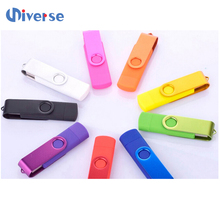 Multi Function Pen Drive , Swivel Usb Flash Drives 128Gb Otg Usb Flash Drive