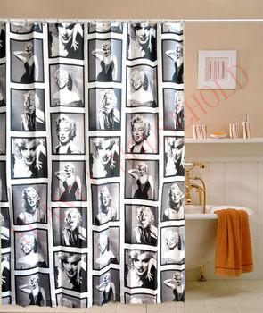 Marilyn Monroe Rideaux De Douche Vintage Design Rideau De Douche