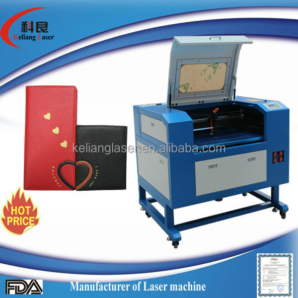 professional manufacture Keliang mini high precision monogram KL-460 YS 50w laser engraving machine