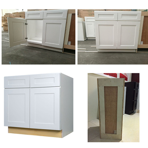 China Factory American White Cheap Kitchen Cabinet For Sales