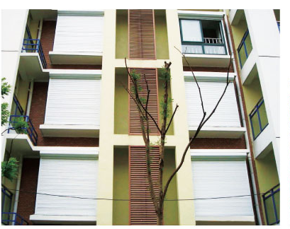 Adjustable aluminum window plantation louver shutter