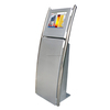 High-sensitivity Coin-operated touch screen kiosk 80mm thermal printer