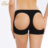 Women butt lifter Hollow Out Booty Lift Booster Enhancer Shaperwear Boy Short