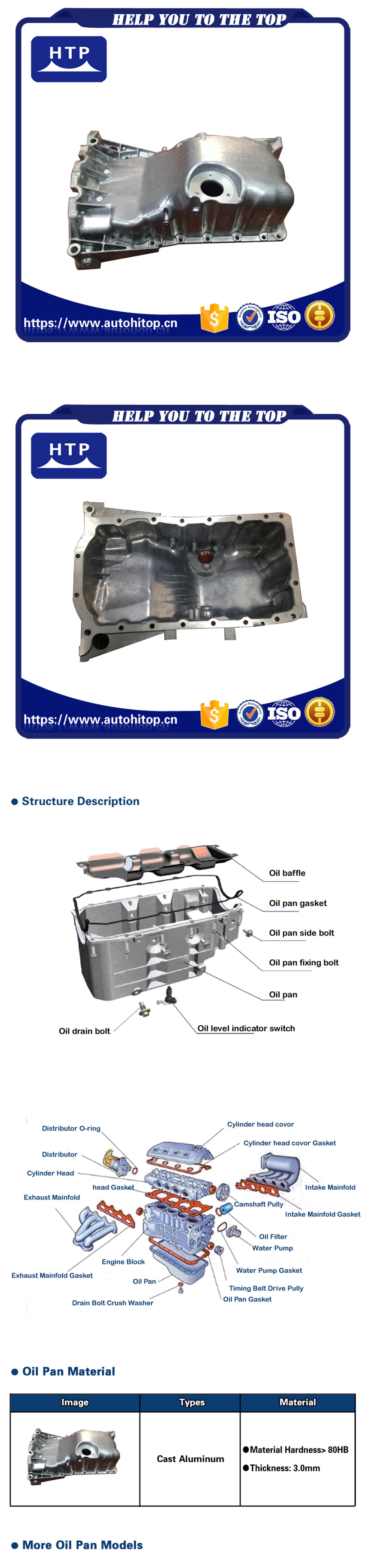 Engine Oil Pan Dorman 264-235