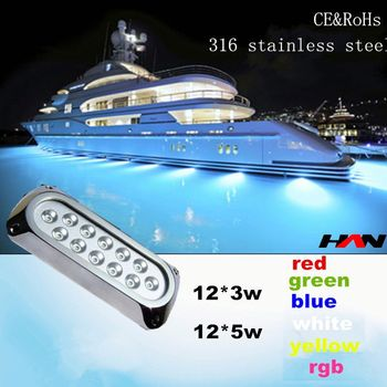 Submersible 36w Pool Waterfall Led Light IP68 36w LED Underwater Pool  Fountain Light Led Pool Table