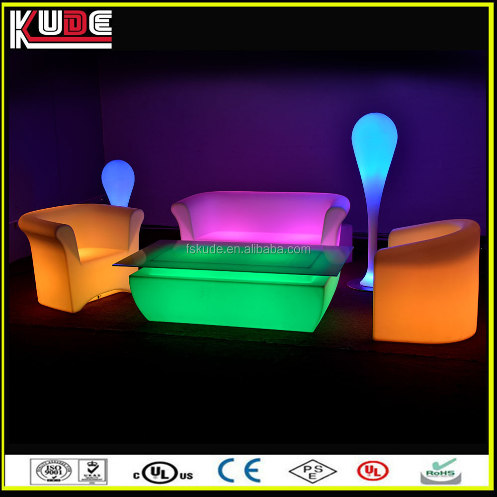 New Stylish Sofa Set LED Coffee Table/LED Glowing Furniture Lighting For  Living Room