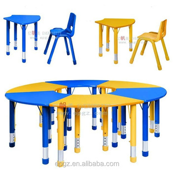 Adjustable Kids Student Homework Table And Chair Set For