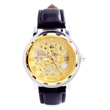 Factory Custom Automatic Movement Luxury Men Watch Mechanical