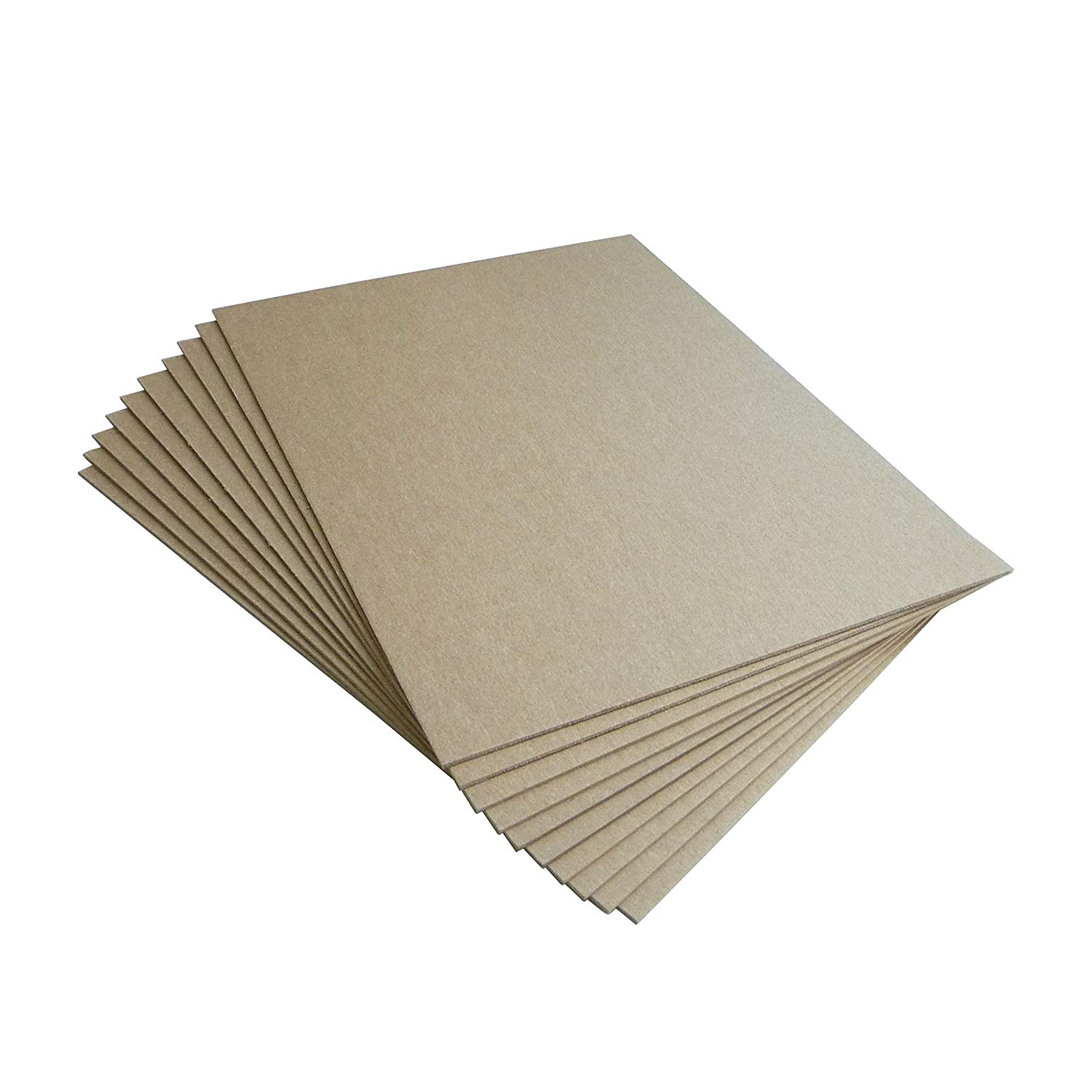 HGP 4.5 x 7 Chipboard Sheets for Arts and Crafts Scrapbooking Backing Mounting Board Picture Framing Shipping Cardboard 10 pack