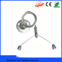 stainless steel cable with Zinc Nipple ceiling attachment for LED