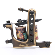 TM454 Kualitas Top Tattoo <span class=keywords><strong>Power</strong></span> <span class=keywords><strong>Supply</strong></span> 10 Bungkus Coils Tattoo Machine Gun Shader Tattoo Machine