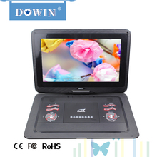 15.4inch factory price 15.4 inch portable dvd player with high quality manufacture wholesale guality cheap flat screen HD smart