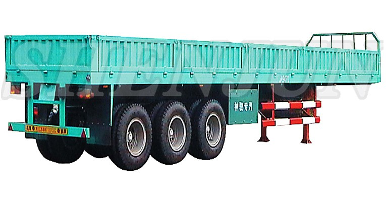 China Suppliers 40 Ton Capacity Grain Transport Semi Trailer For ...