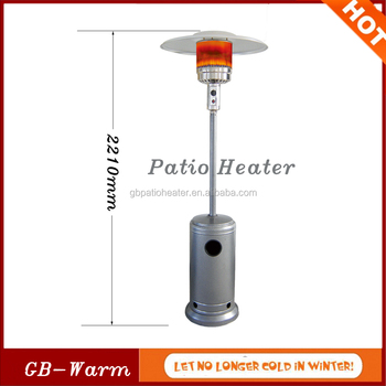 Camping Or Party Stock Products Umbrella Type Gas Patio Heater, Floor  Standing Round Halogen Patio