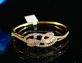 Exclusive American Diamond Bracelet Artificial Indian Jewelry