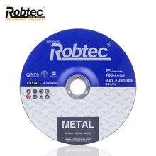 Robtec 7 Inch180 * 6.4*22.2 Mm China Hot Sale Produk Grinding Wheel OEM Tersedia