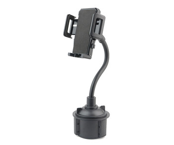 360 degree rotating adjustable goose neck phone Holder telescopic cup phone holder grip