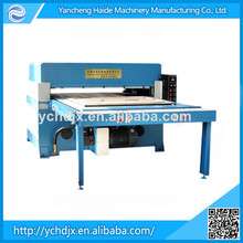 Hydraulic rubber foam sheet die cutting machine