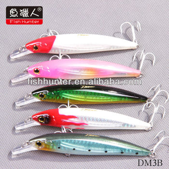 2016 hot sell 100mm 14.5g hard lure fishing lure