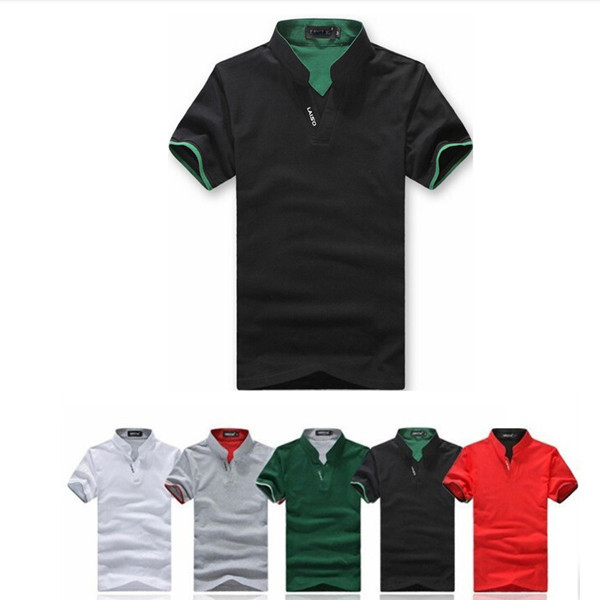 24055ba227c Get Quotations · 2015 New Brand Summer Men Polo Shirt White Men Clothing Solid  Polo Shirts Plus SizeCasual Cotton