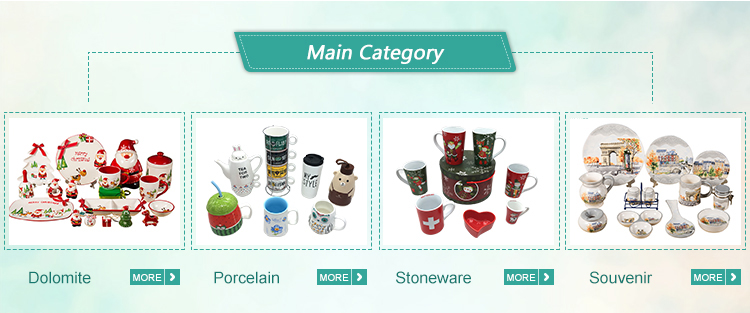 Custom high quality triangle shape stoneware travel mug for sublimation