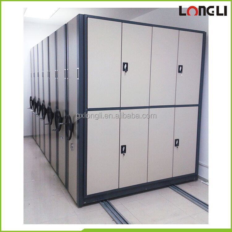 Longli High Quality Electronic Mobile Shelving Storage System File Compactor For Archive