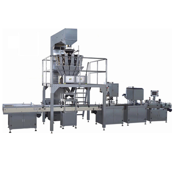 Glass bottle filling powder packing packaging machine machine