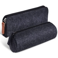China Factory Low MOQ Promotion Custom Printed Eco Friendly Felt Pencil Case For Kids