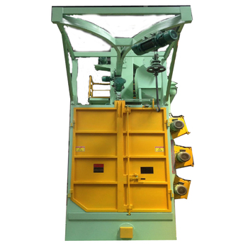 High quality alloy hammer surface descaling equipment/Q37 hook type shot blasting machine