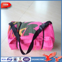 China Suppliers Wholesale Custom Printed Beach Towel With Inflatable Pillow