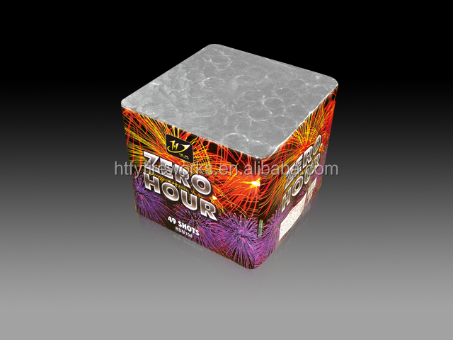 Top Grade Outdoor 49 Shots Zero Hour Cakes Pyrotechnics Buy Fireworks