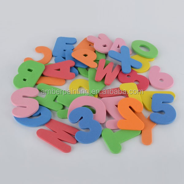 Educational alphabet letter tub town foam bath toys for kids