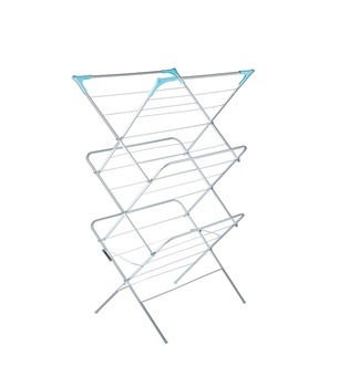 3 Tier Foldable Towel Or Clothes Drying Rack With Handle Buy
