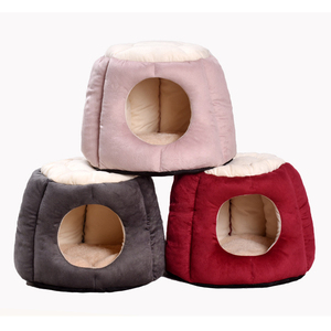 Unique Pet Products Wholesale Luxury Dog Cave stool Bed For Pup Or Cats