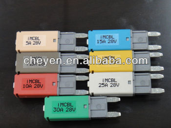 Automotive Fuse,Parts,Terminal Mini Circuit Breaker Replace For Traditional  Fuse,Re-usable Fuse - Buy Circuit Breaker,Breaker,Electrical Products