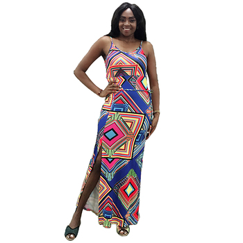Navy Blue Open Back Plus Size Ethnic Maxi Dress Sling Design Your Own Dress  - Buy Design Your Own Dress,Open Back Dress,Plus Size Dress Product on ...